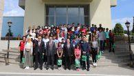 Biz Anadoluyuz Projesi Gençleri Vali Nayir'in Konuğu Oldular