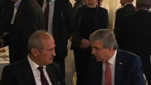 Başkan Yüce Bakan Turan'la görüştü