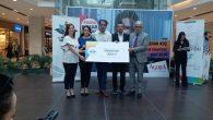 Hacıköy İlkokulu Öğretmenleri ödüllerini aldılar.