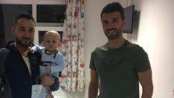 Sofuoğlu Ömer Bedir Asaf'ı ziyaret etti.