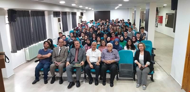 Sınavlar Öncesi Necmettin Erbakan Fen Lisesi Öğrencileri ile bir araya geldi.
