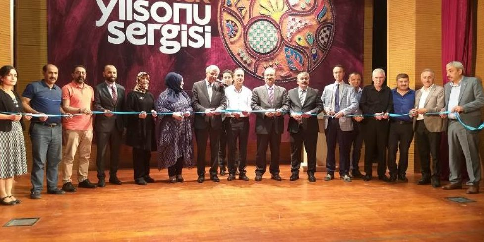 SAMEK Arifiye Yılsonu Sergisi Açıldı.