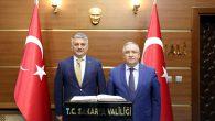 Balıkesir Valisi Yazıcı'dan Vali Nayir'e Ziyaret