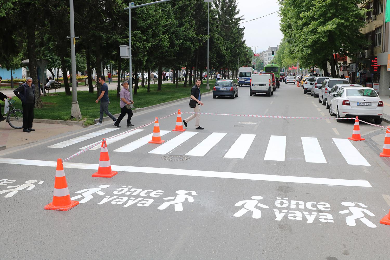 Trafikte 'Önce Yaya' farkındalığı