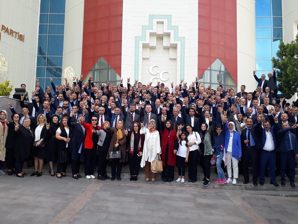 MHP Sakarya'dan Başkent çıkarması
