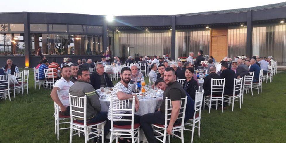Ayvaz'dan Kooperatif üyelerine iftar