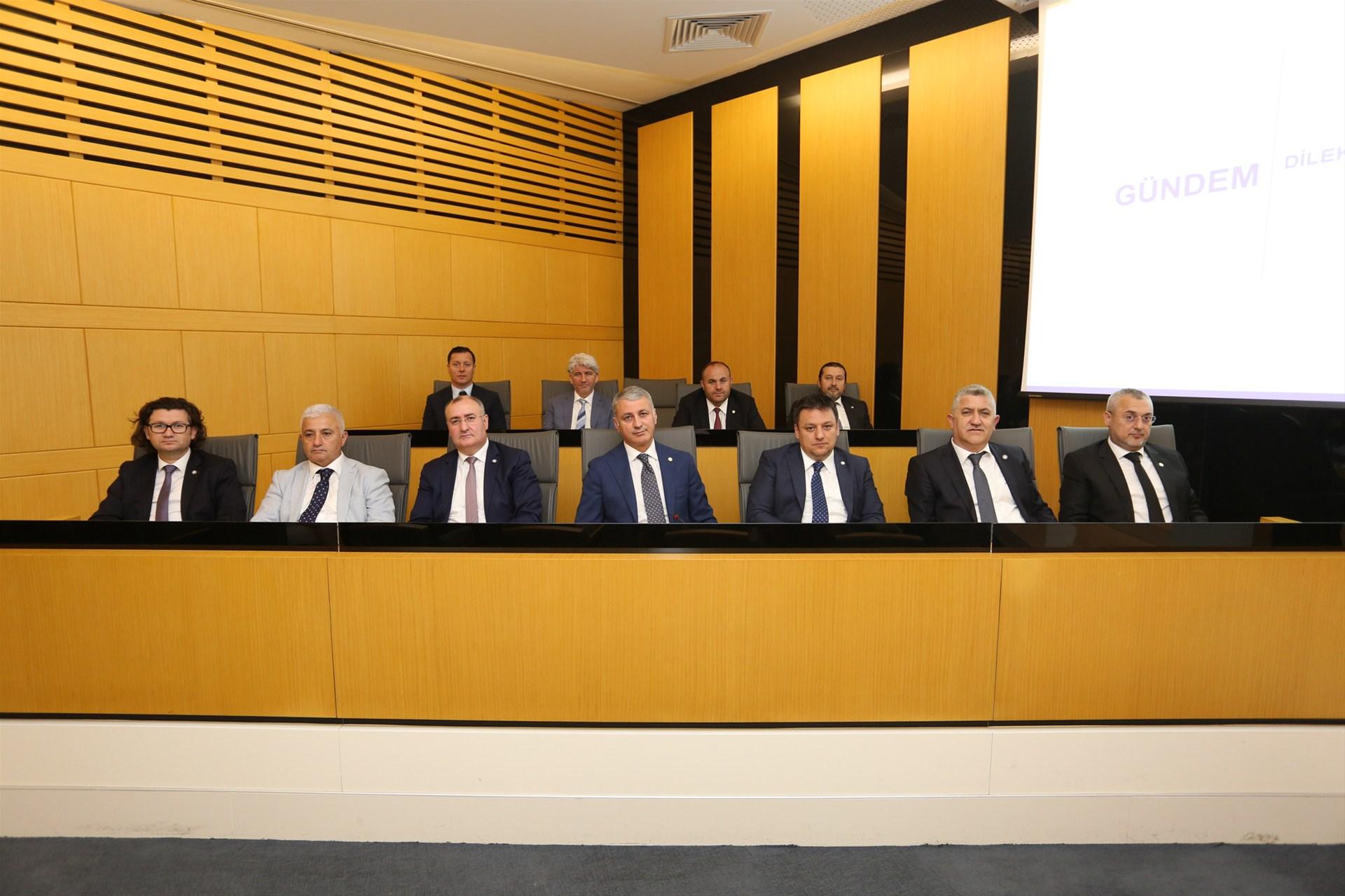 Meclis üyeleri fuar alanı ihtiyacını dile getirdi