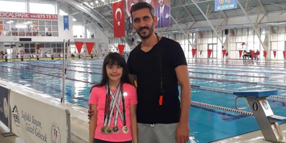 7 Madalya Kazanan Özel Sporcudan İtalya Hazırlığı