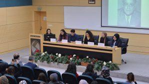 """Sakarya Üniversitesinde """"Ahmet Hamdi Tanpınar Paneli"""" düzenlendi."""