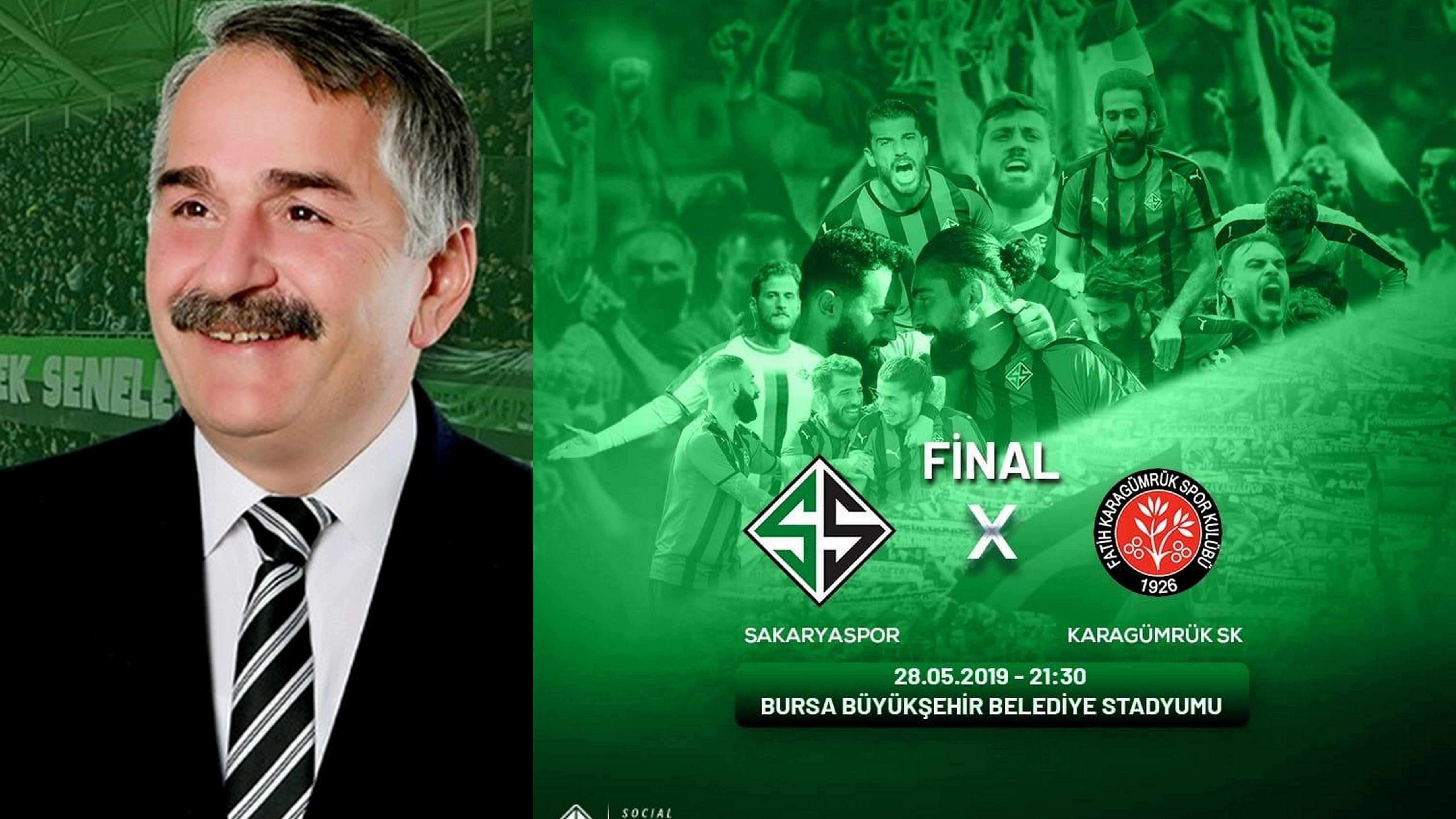 Başkan Karakallukçu Sakaryaspor'a Başarı diledi