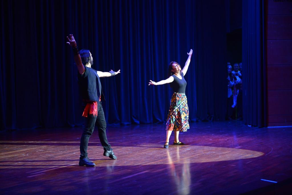 SAÜ'de Dünya Dans Günü etkinliği düzenlendi.