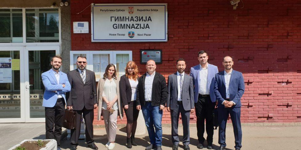 Uluslararası Öğrenci Merkezinden Balkanlardaki Liselere Ziyaret