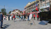 19 Mayıs Sakarya'da çelenk sunumu ile başladı.