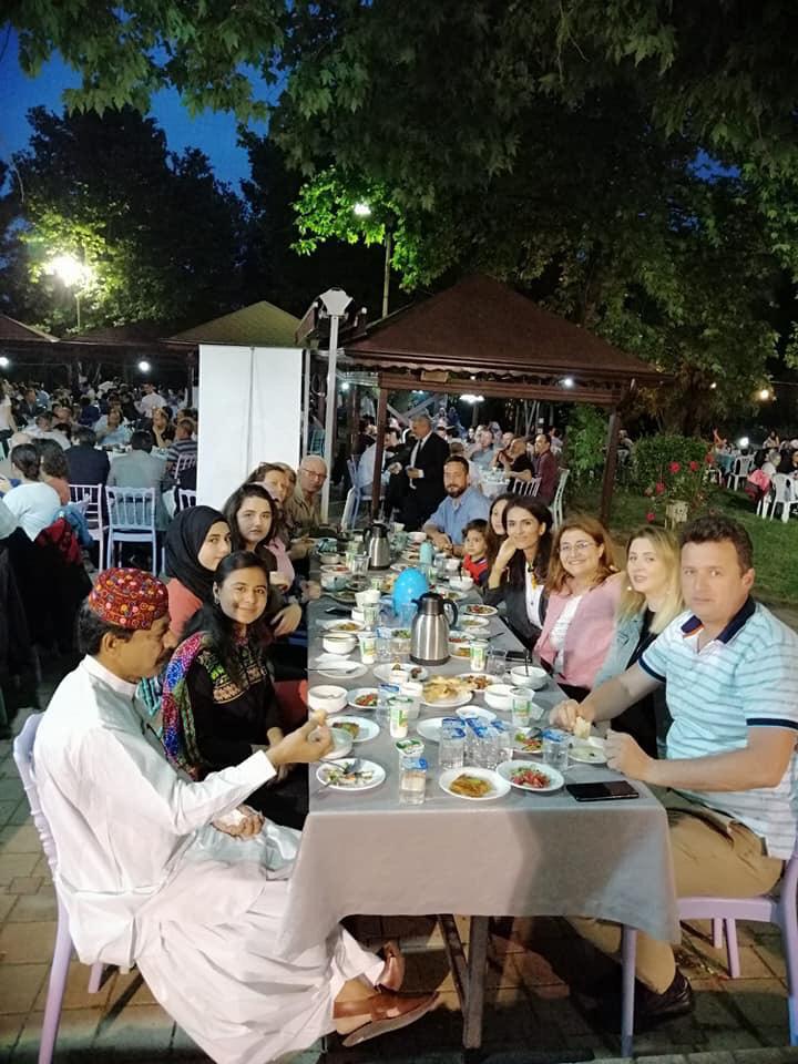 SAKARYA'DA ASKIDA İFTAR