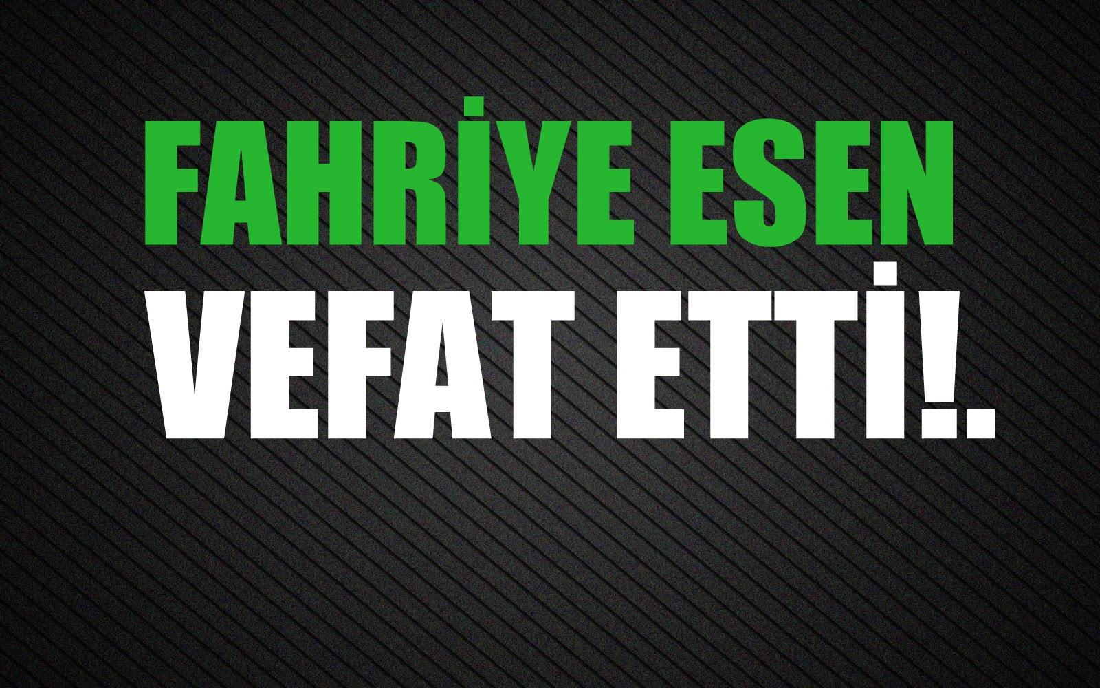 ESEN AİLESİNİN ACI GÜNÜ!..