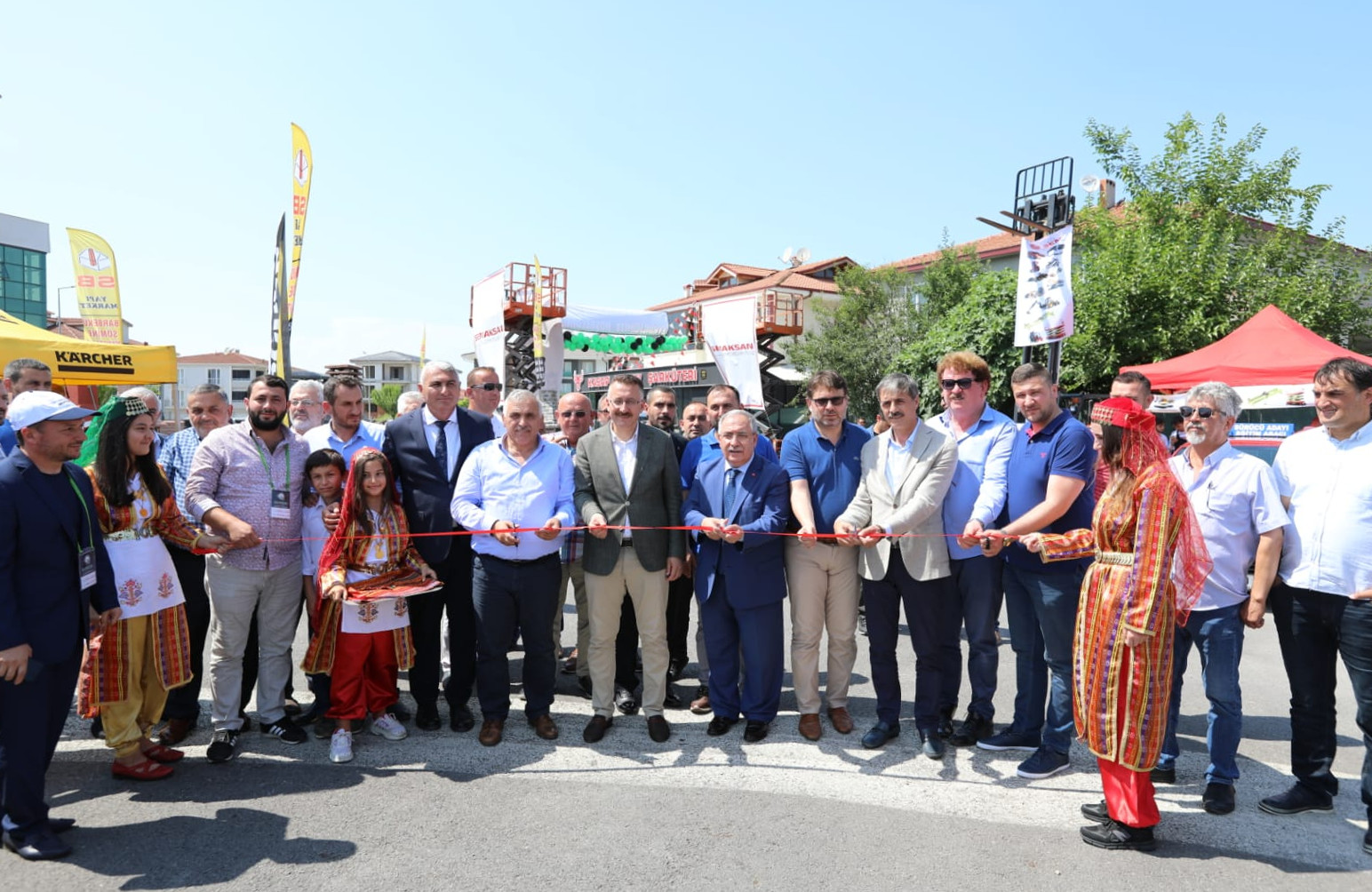 İş Makinaları Doğu Marmara Sektör Buluşması Etkinliğinin Açılışı Yapıldı
