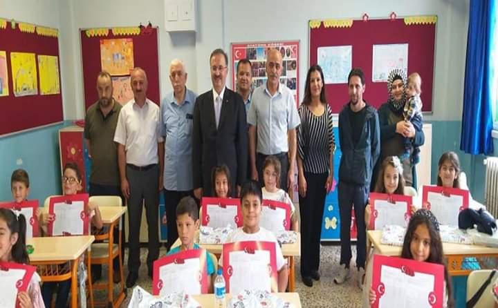 Arifiye'de 7416 öğrenci karne aldı.