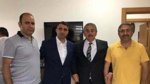 Başkan'dan Davut Cengiz'e Hayırlı Olsun ziyareti.