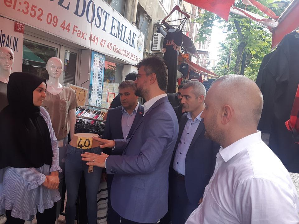 MHP Arifiye'den Binali Yıldırım'a Destek Çalışması