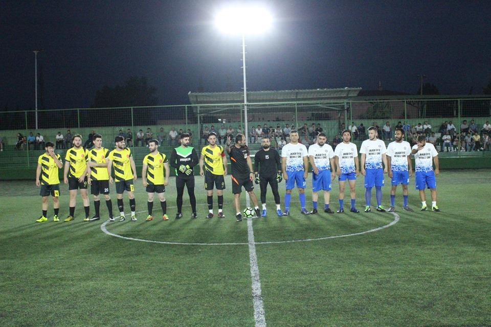 İlçe Futbol Turnuvası tüm heyecanı ile devam ediyor