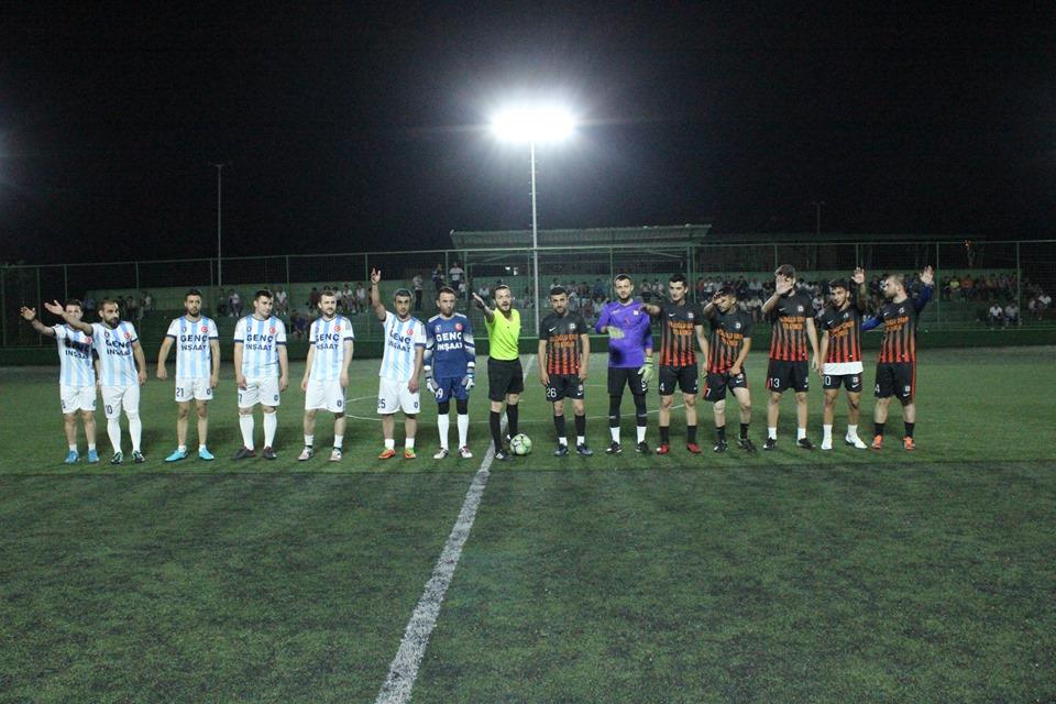 İlçe Futbol Turnuvası Başladı