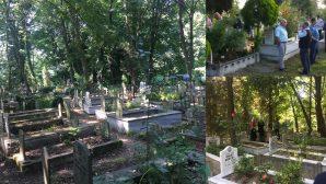 İlçemizde Bayram Günleri Mezarlıklar ziyaretçi akınına uğradı
