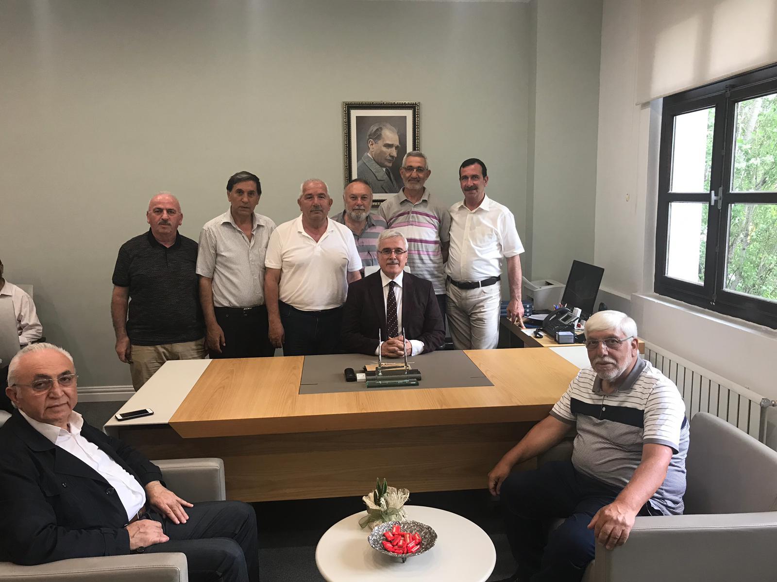 Kâbe Dostlarından Cevherli'ye Ziyaret
