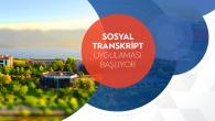 SAÜ'den Yeni Uygulama: Sosyal Transkript