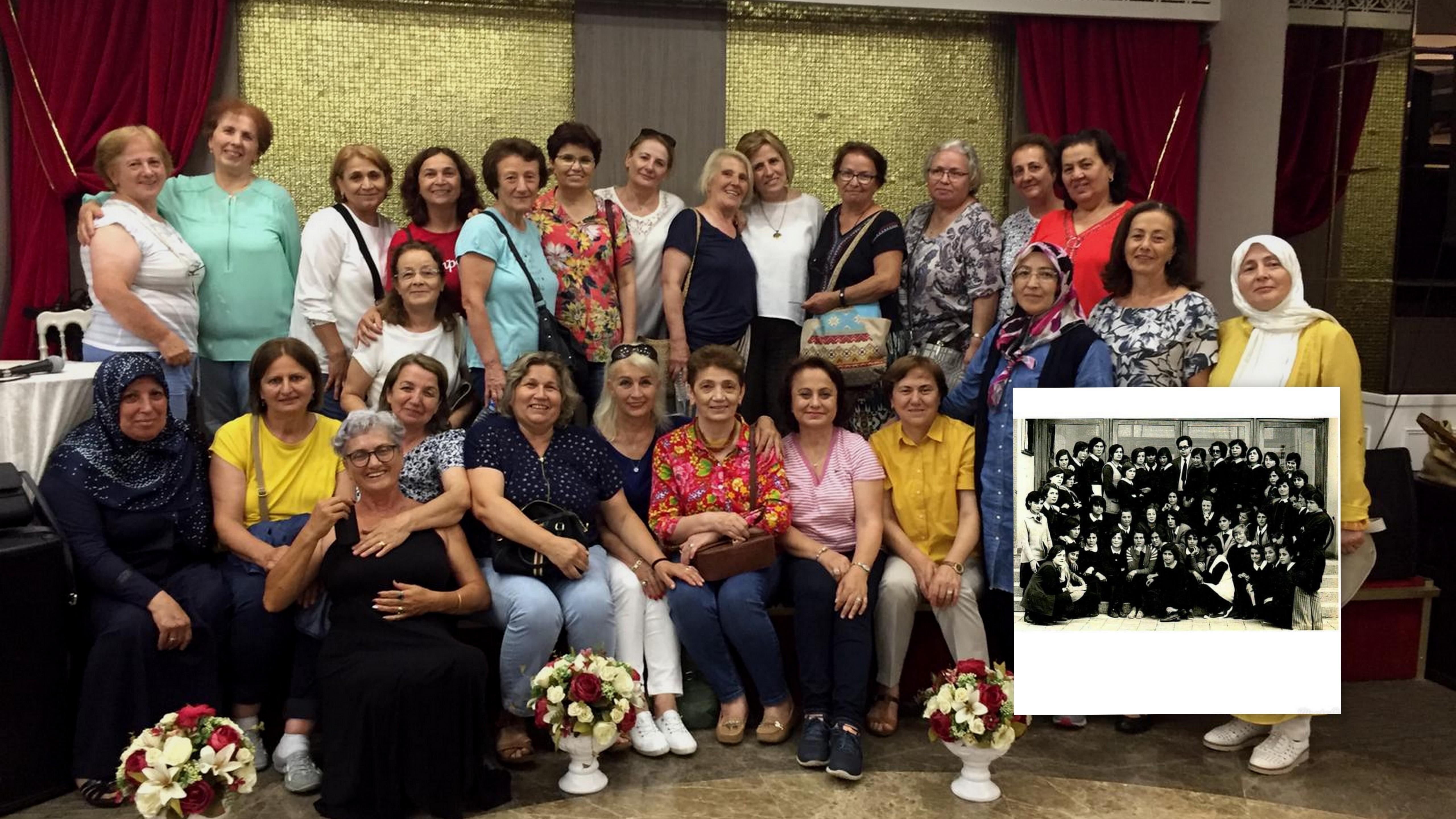 Beşikdüzü Öğretmen Okulu Mezunları Sakarya'da buluştu
