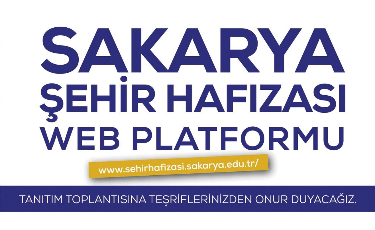 Sakarya Şehir Hafızası web portalı SATSO'da tanıtılacak.