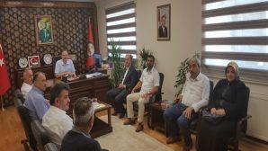 Arifiye AK Parti İlçe Teşiklatı ve  Belediye Meclis Üyelerinden ziyaret