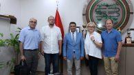 Litvanya Marijampole Bölge Başsavcısı'ndan Baro Başkanı Burak'a ziyaret