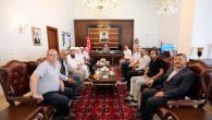 Hanedan Torunu Harun Osmanoğlu'ndan Vali Nayir'e Ziyaret