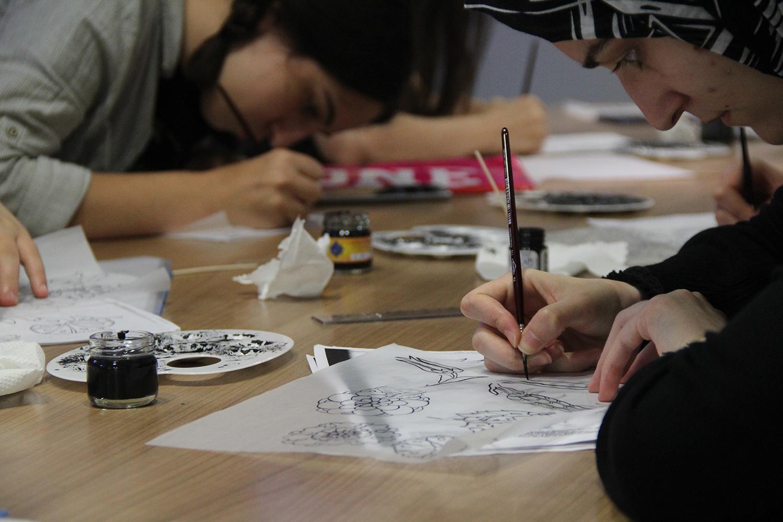 Genç Atölye'de yetenekler ön plana çıkıyor