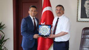 Baro Başkanı Burak'tan İlçe Belediyelerine ziyaret