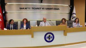 Sakarya Kadın Girişimciler Kurulu ilk meclis toplantısını yaptı
