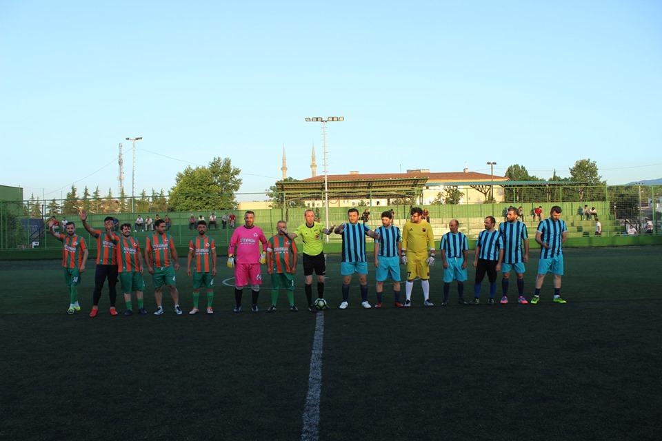 İlçe Futbol Turnuvasında Oynanan son karşılaşmalar