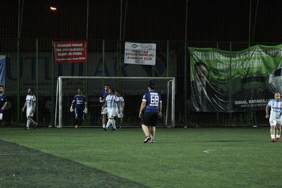İlçe Futbol Turnuvasında 13. gün geride kaldı.