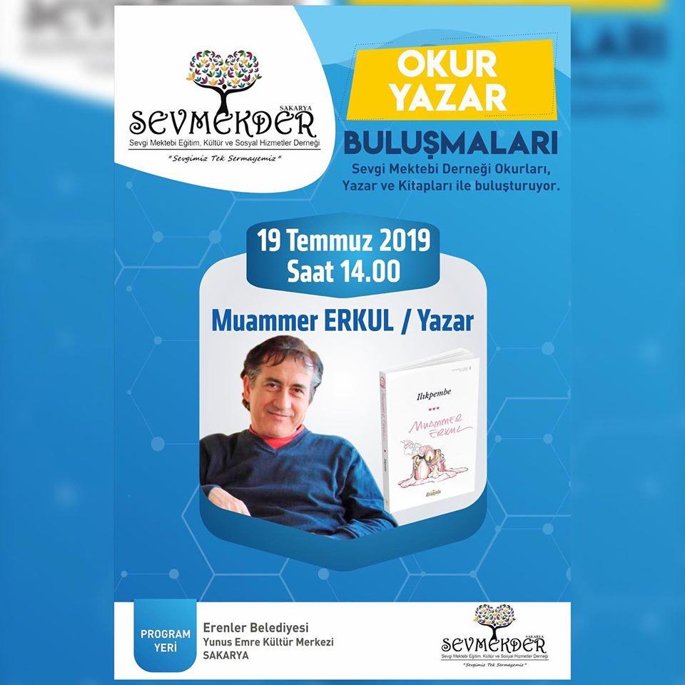 SEVMEKDER'in Konuğu Yazar Muammer ERKUL