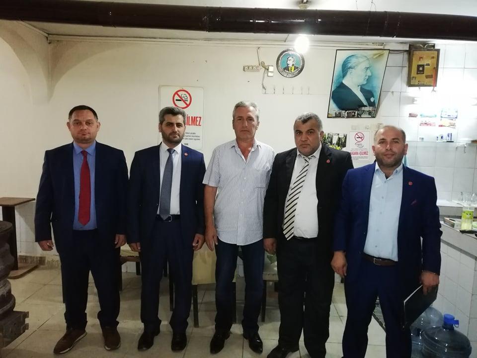 Yeniden Refah Partisi Arifiye İlçe Mahalle gezilerinde