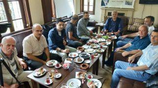 Tuna'nın '40 Şehir Portresi' kitabına tanıtım toplantısı gerçekleşti