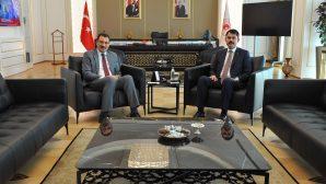 Bakan Murat Kurum'la sel felaketini görüştü