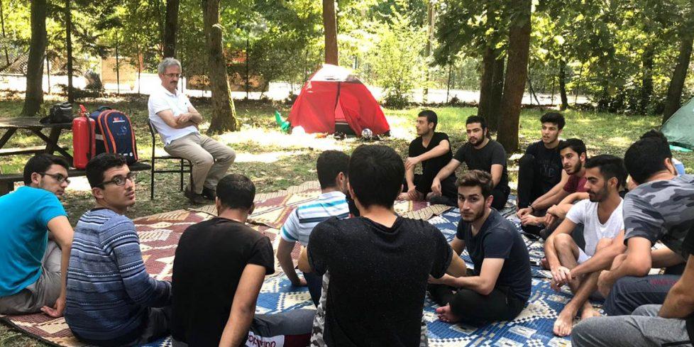 Arifiye İl Ormanın 'da 'Temel Afet Bilinci' eğitimleri verildi.