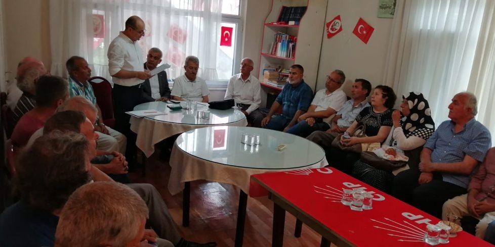 CHP Arifiye İlçe Danışma Toplantısı yapıldı
