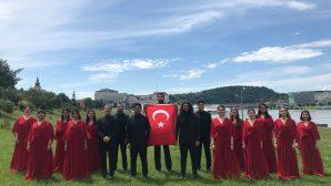 Sakarya Üniversitesi Çoksesli Korosu Ödülle Döndü
