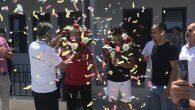 Avrupa Şampiyonuna Önce Karşılama , Sonra Ağırlama