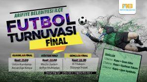 Arifiye Belediyesi İlçe Futbol turnuvasında Final Heyecanı