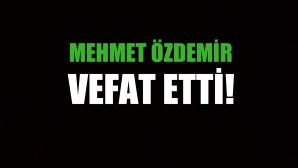 ÖZDEMİR AİLESİNİN ACI GÜNÜ!..