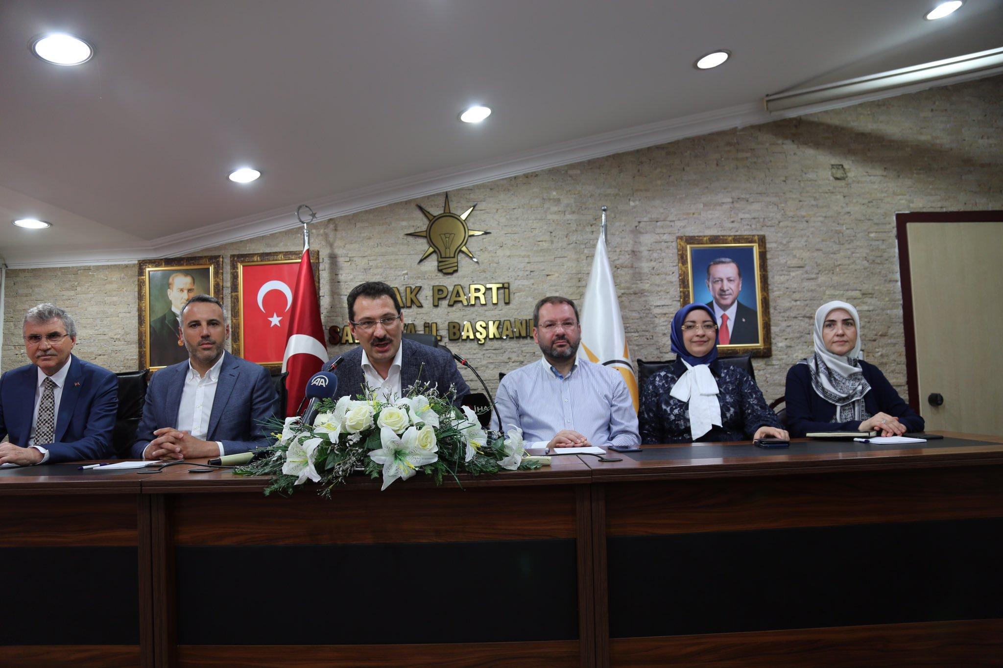 Ali İhsan Yavuz,Başkanlarla buluştu.