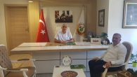 Karasu Orman İşletme Müdürü Sungur Mehmet Yeni'den Veda Ziyareti